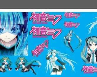 Набор декалей Hatsune Miku Иташа NISSAN Silvia 13