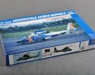 Сборная модель Японский спасательный вертолет Aérospatiale AS.365N Dauphin
