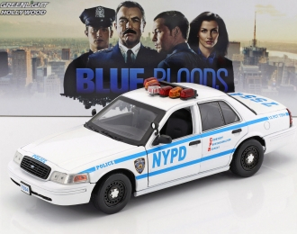 "FORD Crown Victoria Police Interceptor ""New York City Police Department"" (NYPD) Jamie Reagan's 2001 (из т/с ""Голубая кровь"")"