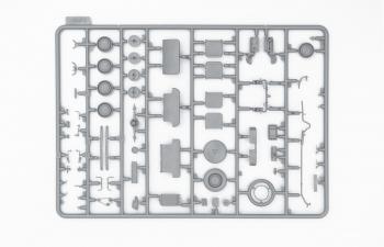 Сборная модель Москвич-401-420А Советский легковой автомобиль