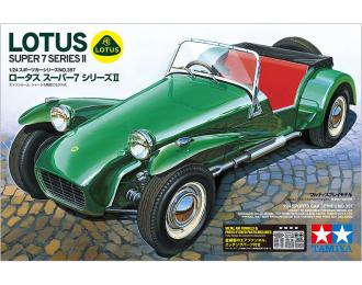 Сборная модель Автомобиль Lotus Super 7 Series II