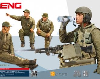 Сборная модель Израильский танковый экипаж