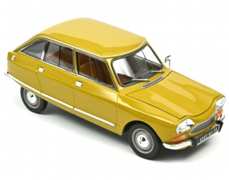 CITROEN Ami 8 Club 1969 Bouton d'Or Yellow