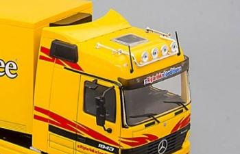 Набор зеркал для современных грузовиков и автобусов (2 пары)