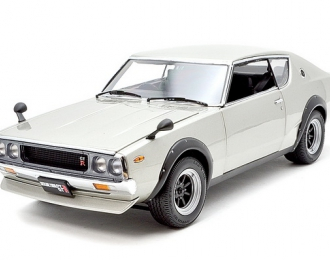 Nissan Skyline GT-R 2000 (KPGC110) Street Sports 1972 (silver wide-wheel)