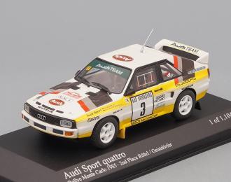 AUDI Sport Quattro Rally - Rohrl Eeistdorfer 2nd Place Rally Monte Carlo (1985), white