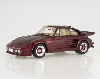 PORSCHE 911 Turbo Gemballa Avalanche, dark red metallic