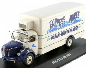BERLIET GLR 8M Express Maree (1960), white