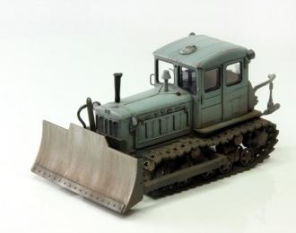 Т-74 бульдозер поздний (серый пыльный)