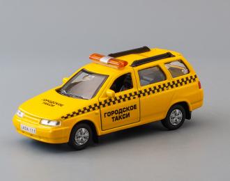 LADA 111 Такси, yellow