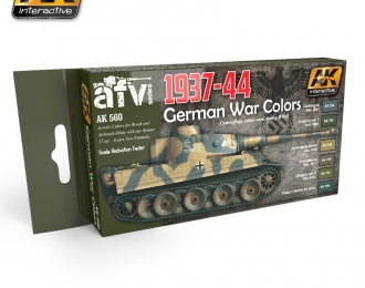 Набор акриловых красок 1937-1944 GERMAN COLORS SET (1937-1944, немецкие цвета) (6 красок)