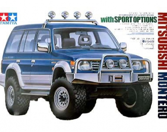 (Уценка!) Сборная модель Mitsubishi Montero  with Sports Options