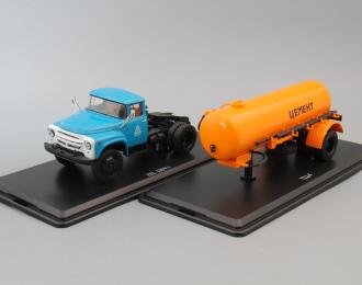 (Конверсия!) Комплект ZIL-130В1+ТЦ-4 Цемент (Оранжевый)