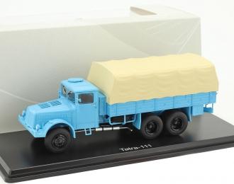 TATRA 111 (бортовой грузовик с тентом) (1947), light blue