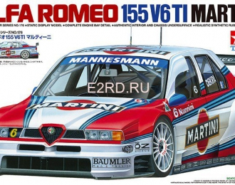 Сборная модель Alfa Romeo 155 V6TI Martini