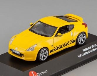 NISSAN  370Z  2009,  yellow
