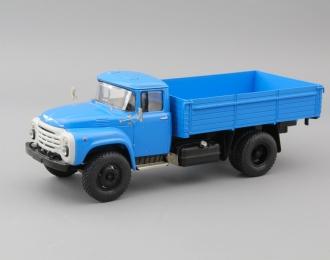 (Конверсия!) ЗИЛ 130-76 бортовой (новая решетка), голубой