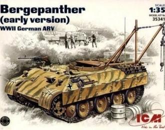 Сборная модель Бронированная ремонтно-эвакуационная машина Bergepanther (ранний вариант)