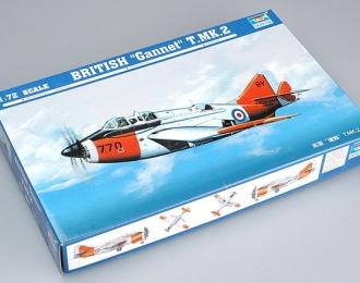 Сборная модель Британский учебный противолодочный самолет Fairey Gannet T.MK.2