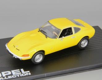 OPEL GT (1968), yellow