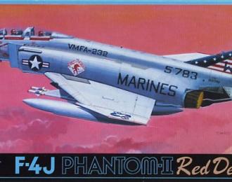 "Сборная модель F-4J Phantom-II ""Red Devil"""