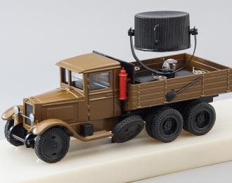 ПО-15-8 ЗИС-6 Прожектор (Прожекторная автомобильная станция), хаки / черный