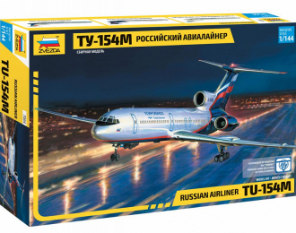 Сборная модель Российский авиалайнер ТУ-154М