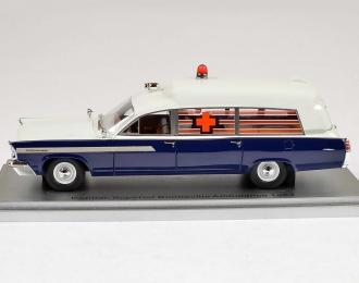 PONTIAC Superior Bonneville J.F.K Ambulance (1963), blue / white