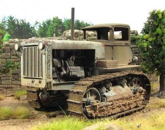 Сталинец С-65 с автокабиной, запыленный
