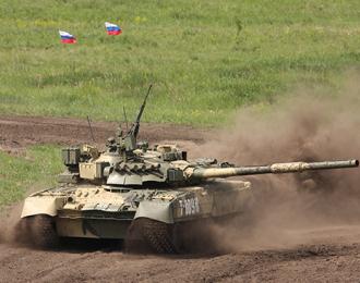 Сборная модель Russian T-80UK MBT