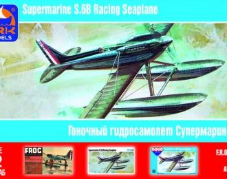 Сборная модель Британский гоночный гидросамолет Supermarine S.6B