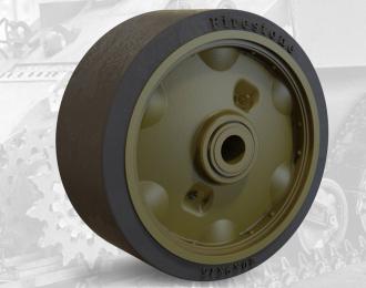 Набор дополнений колеса штампованные с шиной для американского танка M3 Lee / M4 Sherman