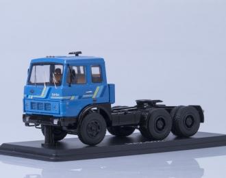 МАЗ 6422 седельный тягач ранний, синий