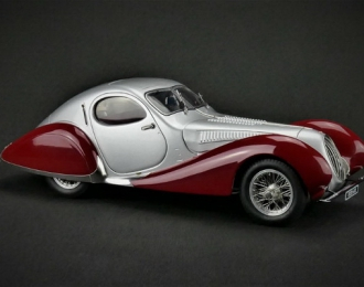 "Talbot-Lago Coupé T150 C-SS Figoni & Falaschi ""Teardrop"", 1937-39 silver / red"