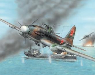 Сборная модель Штурмовик Ильюшин Ил-2 М