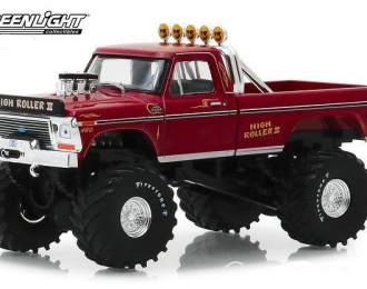"FORD F-250 Monster Truck Bigfoot ""High Roller"" 1979 Red"