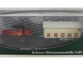 Hanomag ST100 with Mack trailer Cirkus Krone