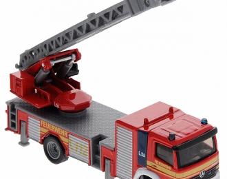 MERCEDES-BENZ Feuerwehr-Drehleiter L32, red