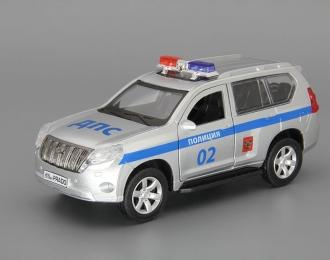TOYOTA Land Cruiser Prado Полиция, silver
