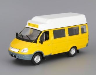 Горький 322121 маршрутное такси, Автомобиль на службе 51, желтый
