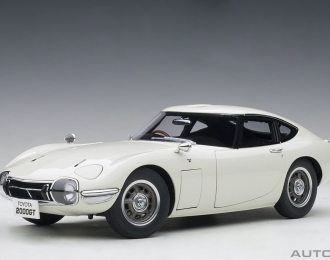 Toyota 2000 GT Coupe 1965 (white)