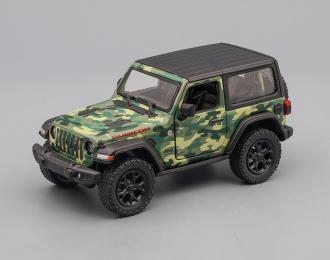JEEP Wrangler (2018), camouflage green