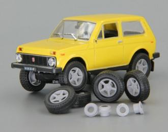 Комплект колес #64 (Нива K&K Титан-Тех 4х4 off road)