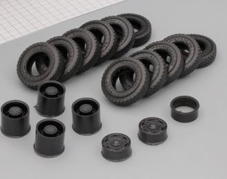 рез+диски СуперМАЗ-6Х4 комплект на рез. ИД-304