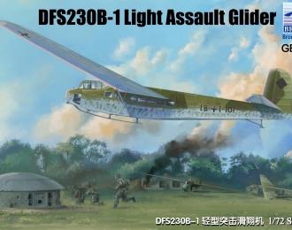 Сборная модель Легкий штурмовой самолет DFS230B-1