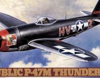 Сборная модель REPUBLIC P-47M THUNDERBOLT