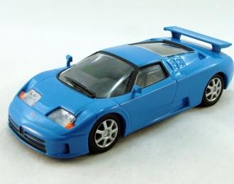 BUGATTI EB 110, Суперкары 62, blue