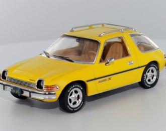 AMC PACER X (1975), yellow