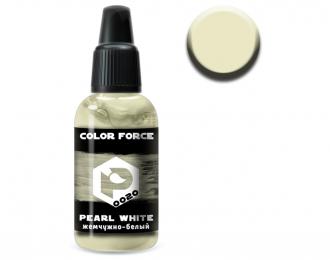 Краска для аэрографии Жемчужно-белый (pearl white)