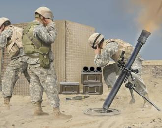 Сборная модель Миномет M252 Mortar